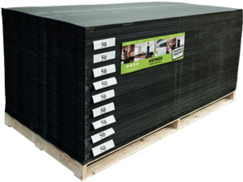 Antinox Protection Board Black Recycled Decorator Sheet